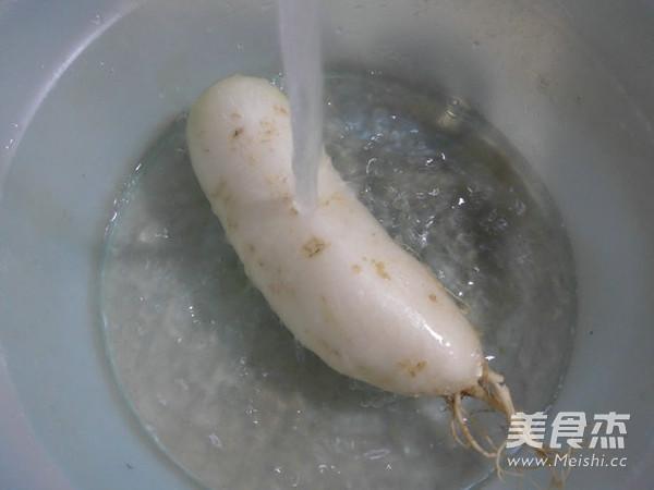 萝卜肉骨汤的做法图解