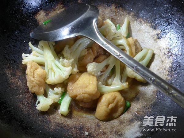 油豆腐炒花菜怎样煸