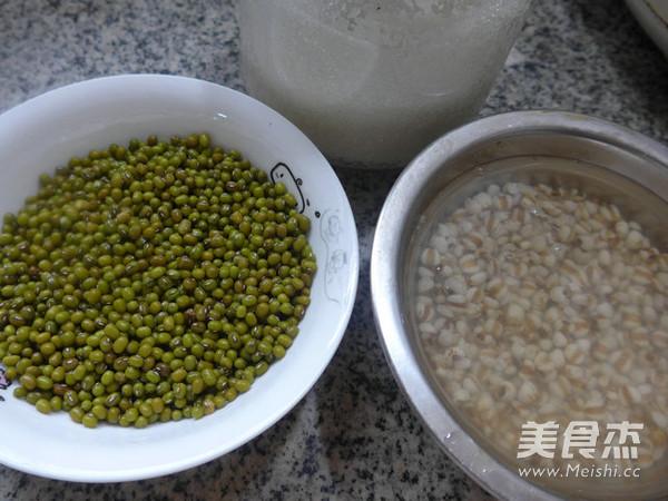 薏米仁绿豆汤的做法大全