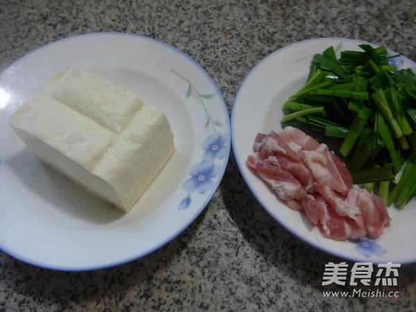 韭菜五花肉烧豆腐的做法大全