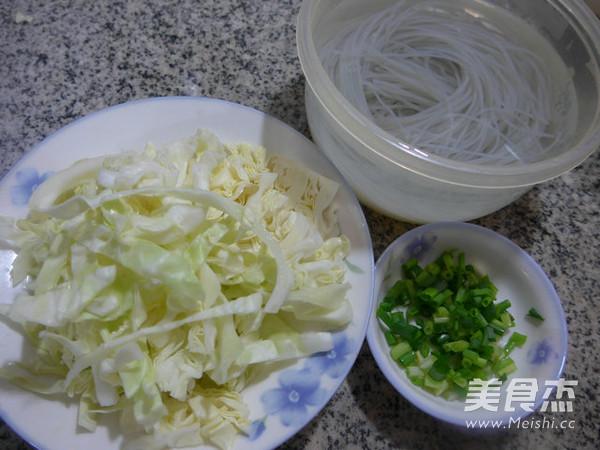 香葱圆白菜炒粉条的做法大全