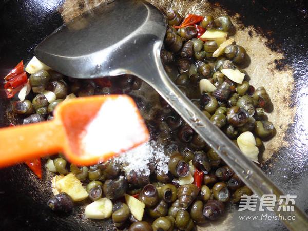 炒蛳螺怎么煮