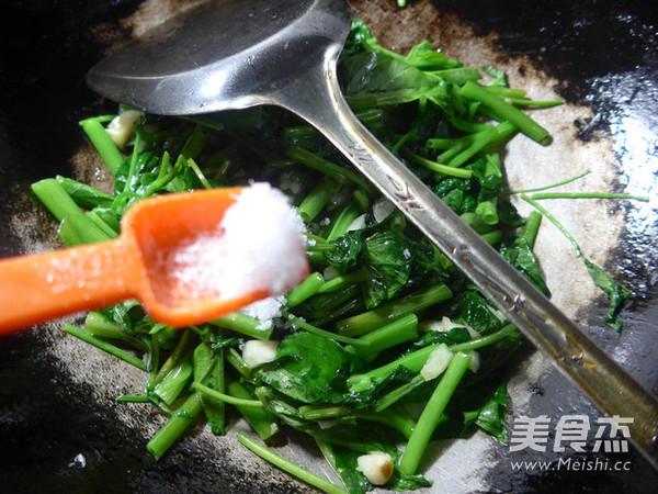 蒜香空心菜怎么吃