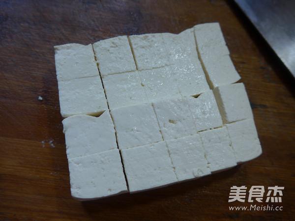 培根鸡蛋蒸豆腐的家常做法