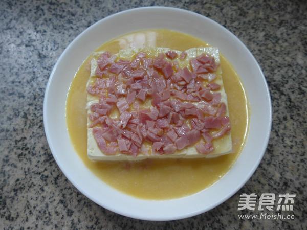 培根鸡蛋蒸豆腐怎么炖