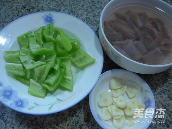 尖椒炒猪肝的做法大全