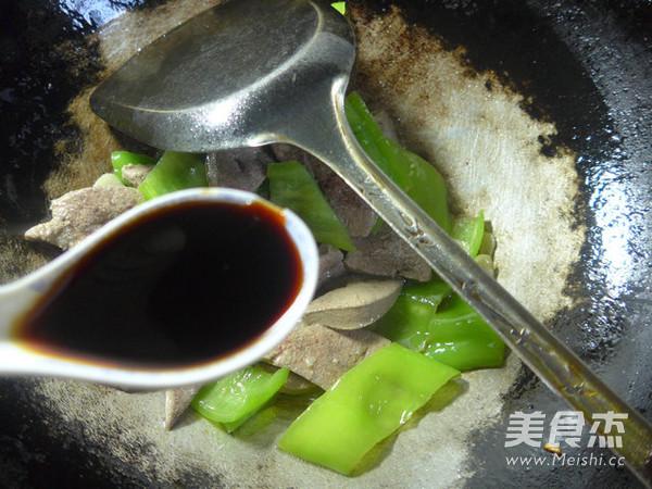 尖椒炒猪肝怎么煸