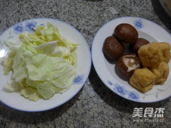 香菇油豆腐炒圆白菜的做法大全