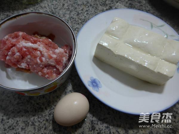 鸡蛋猪肉末蒸老豆腐的做法大全