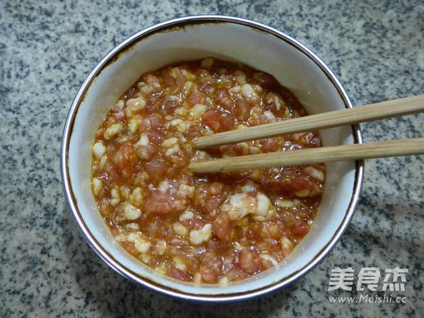 鸡蛋猪肉末蒸老豆腐怎么做