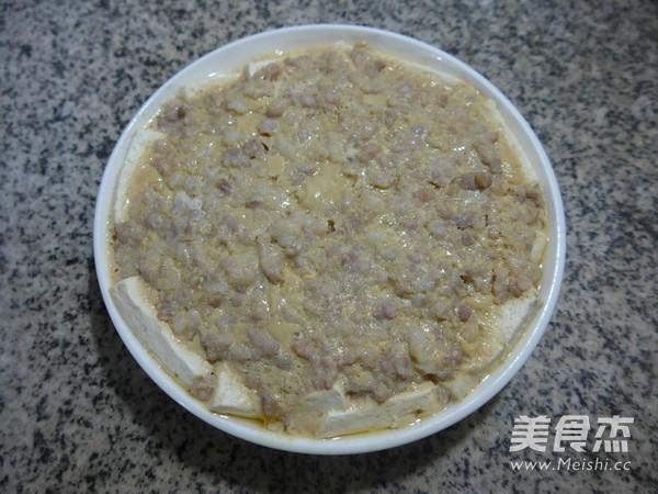 鸡蛋猪肉末蒸老豆腐怎样炒