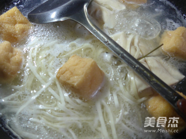 油豆腐面结面的家常做法