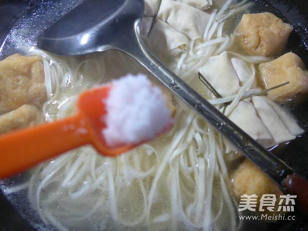 油豆腐面结面怎么吃