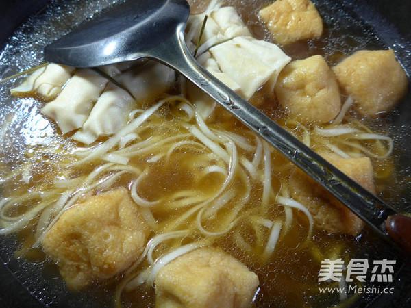 油豆腐面结面怎么炒