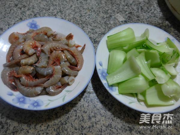 菜梗炒海虾的做法大全