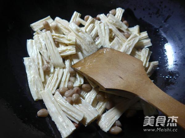 素什锦腐竹的简单做法