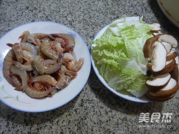 香菇白菜炒海虾的做法大全