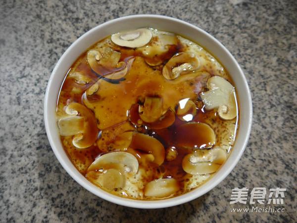 蘑菇鸡蛋羹怎样煮