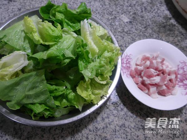五花肉炒生菜的做法大全