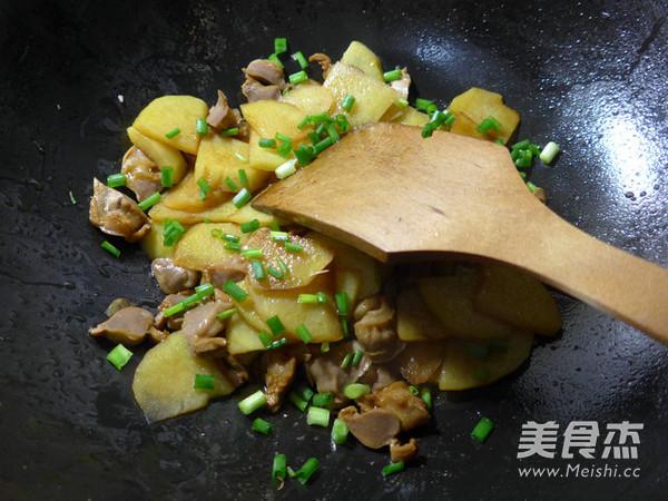 鸡胗炒土豆怎么煮