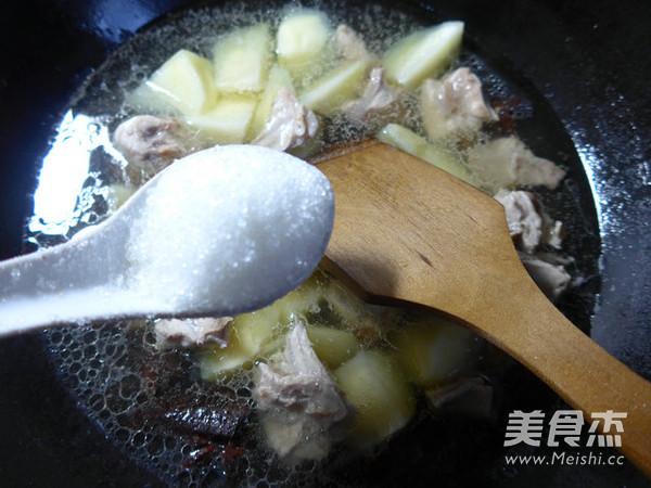土豆烧兔肉怎么炒
