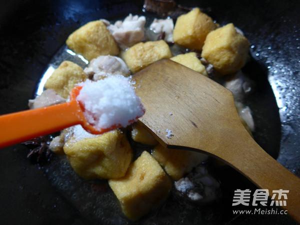 油豆腐烧兔肉怎么煮