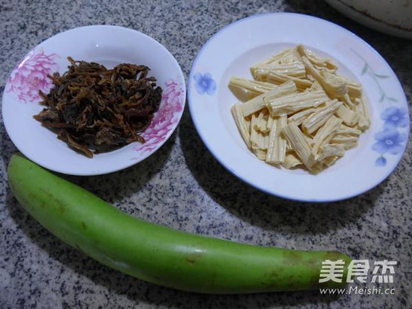梅干菜腐竹煮夜开花的做法大全