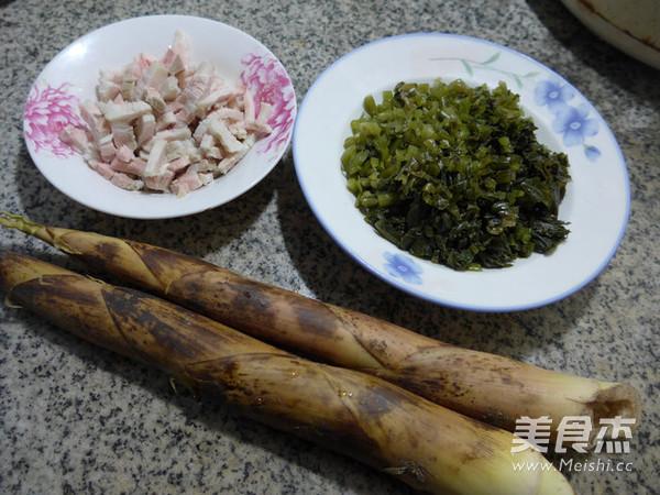 五花肉雪菜炒雷笋的做法大全