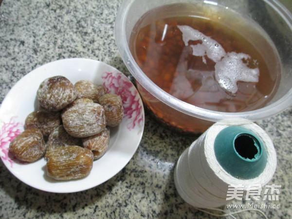 蜜枣红豆糯米粽的做法图解