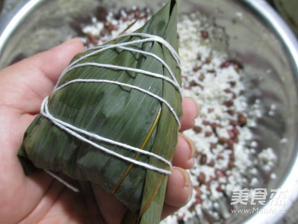 蜜枣红豆糯米粽怎么煮