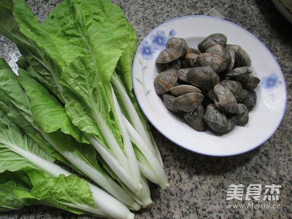 小白菜炒花蛤的做法大全