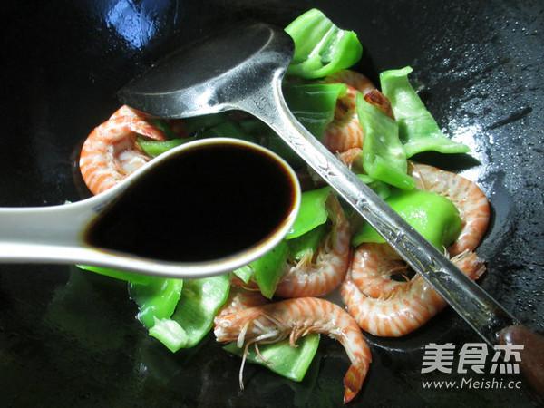 尖椒炒基围虾怎么做