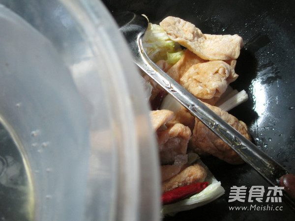 白菜煮豆腐干的简单做法