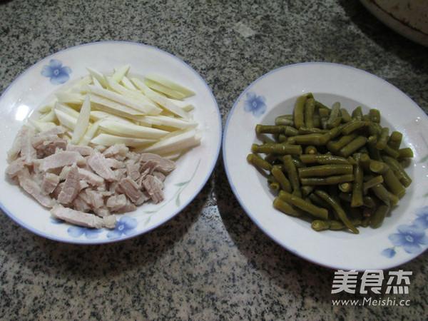 肉丝茭白炒酸带豆的做法大全