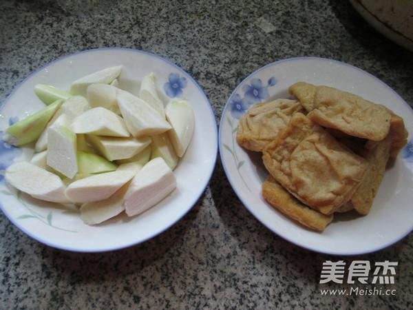 茭白烧豆腐干的做法大全