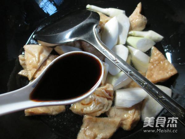 茭白烧豆腐干怎么吃