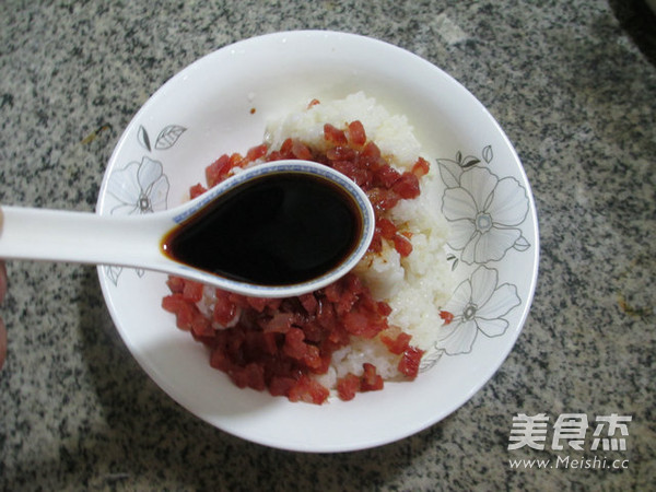 香肠糯米烧卖的简单做法