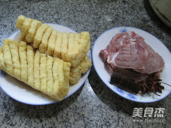 兰花豆腐干烧大排的做法大全