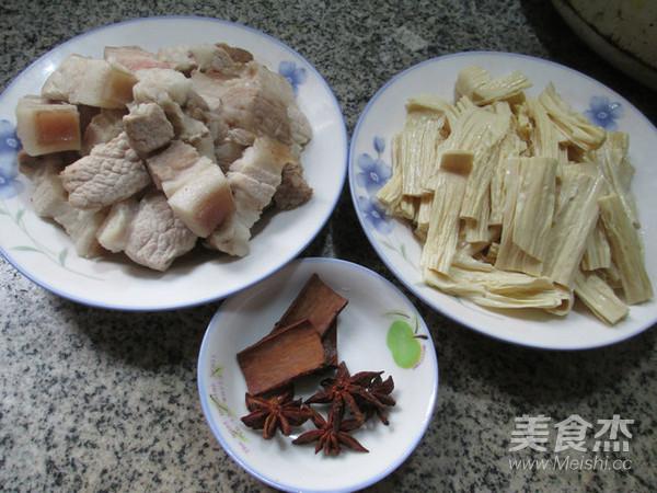 腐竹煮五花肉的做法大全