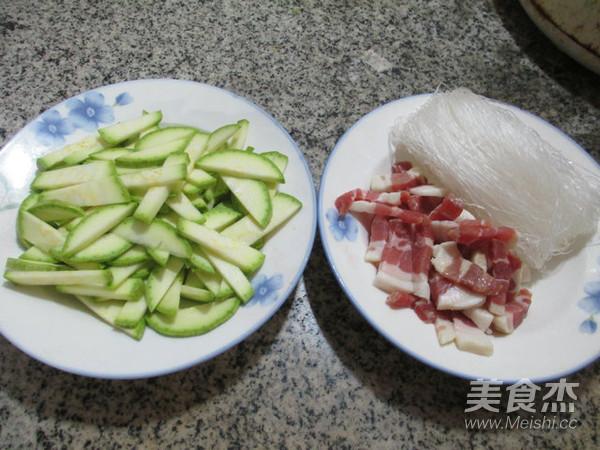 咸肉西葫芦煮粉丝的做法大全