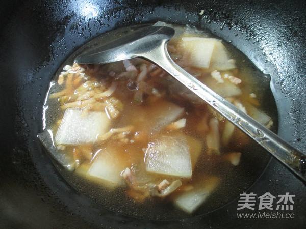 榨菜肉丝冬瓜汤怎么炒