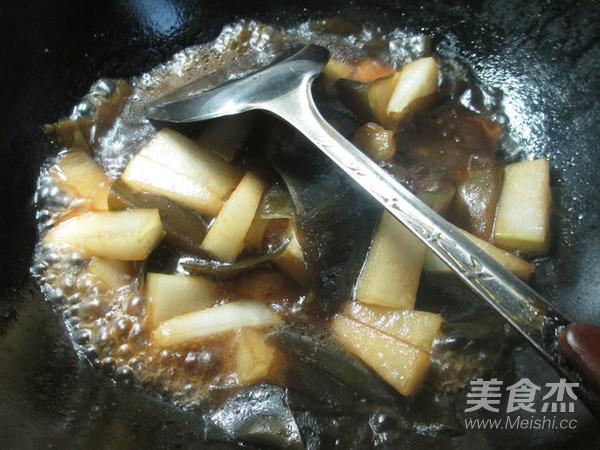 海带煮冬瓜怎么炒