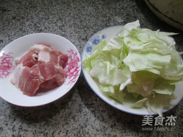 猪肉炒包心菜的做法大全