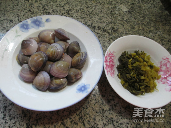 雪菜圆蛤汤的做法大全