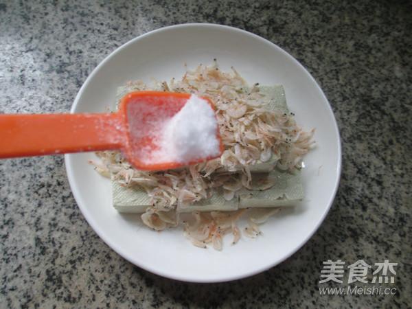 虾皮蒸臭豆腐的家常做法