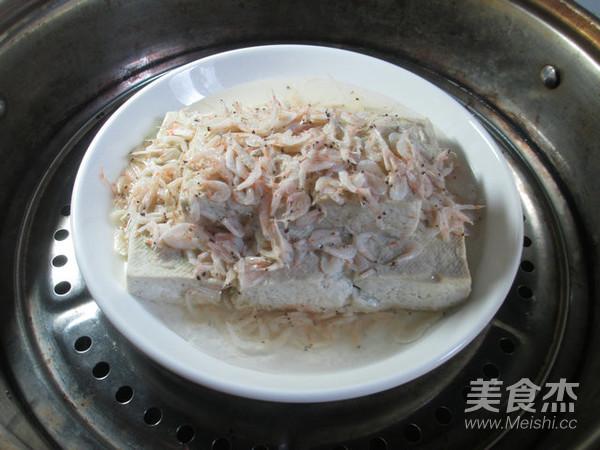 虾皮蒸臭豆腐怎么做