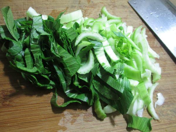 鸭骨油豆腐青菜汤的做法图解