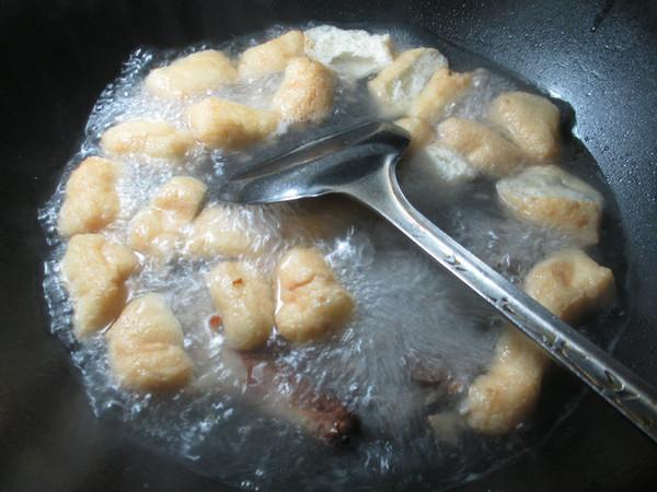 鸭骨油豆腐青菜汤的简单做法