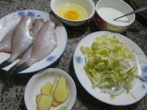 鸡蛋白菜橡皮鱼羹的做法大全