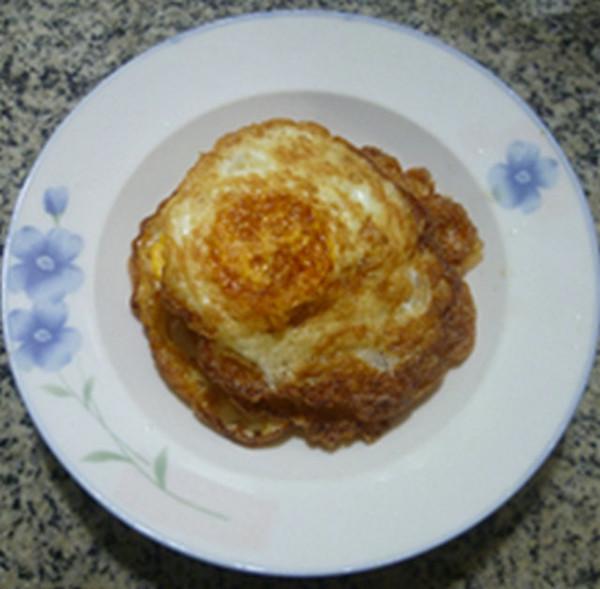 荷兰豆炒荷包蛋的做法图解